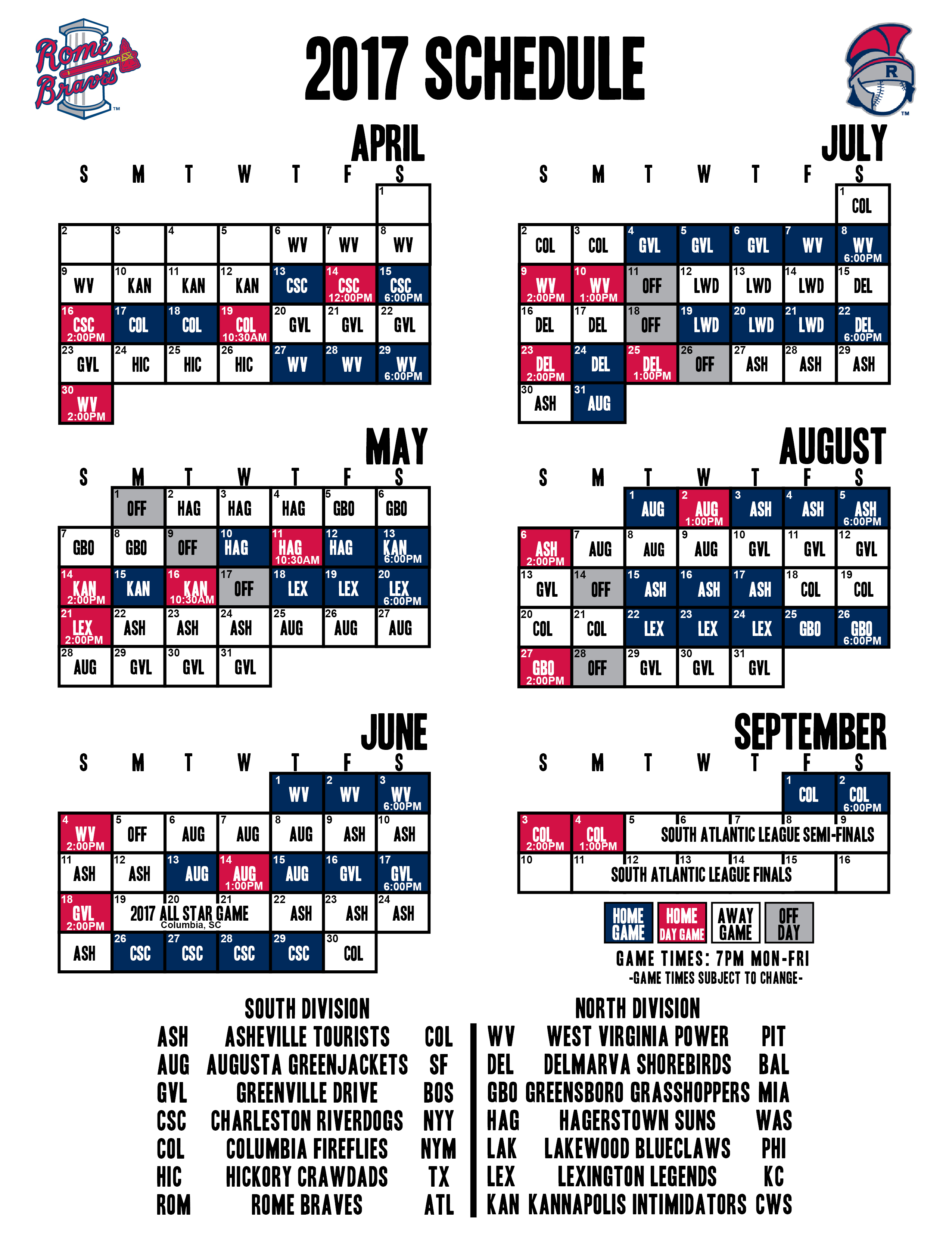 rome braves schedule 2015 | www.topsimages