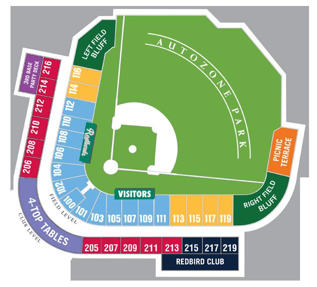 Season Tickets Memphis Redbirds Tickets