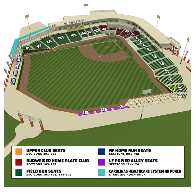 Seating Chart Prices For Single Game Tickets Start As Low 8 Standing Room Only