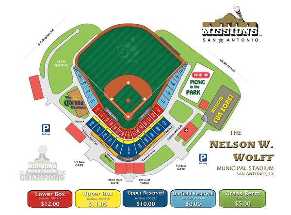 Ballpark San Antonio Missions Wolff Stadium