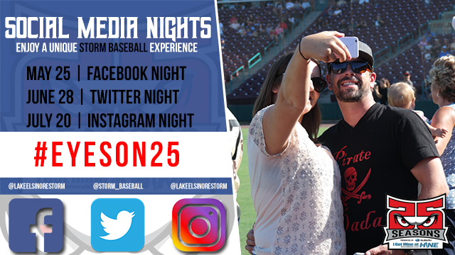 2018 Promotional Schedule | Lake Elsinore Storm News