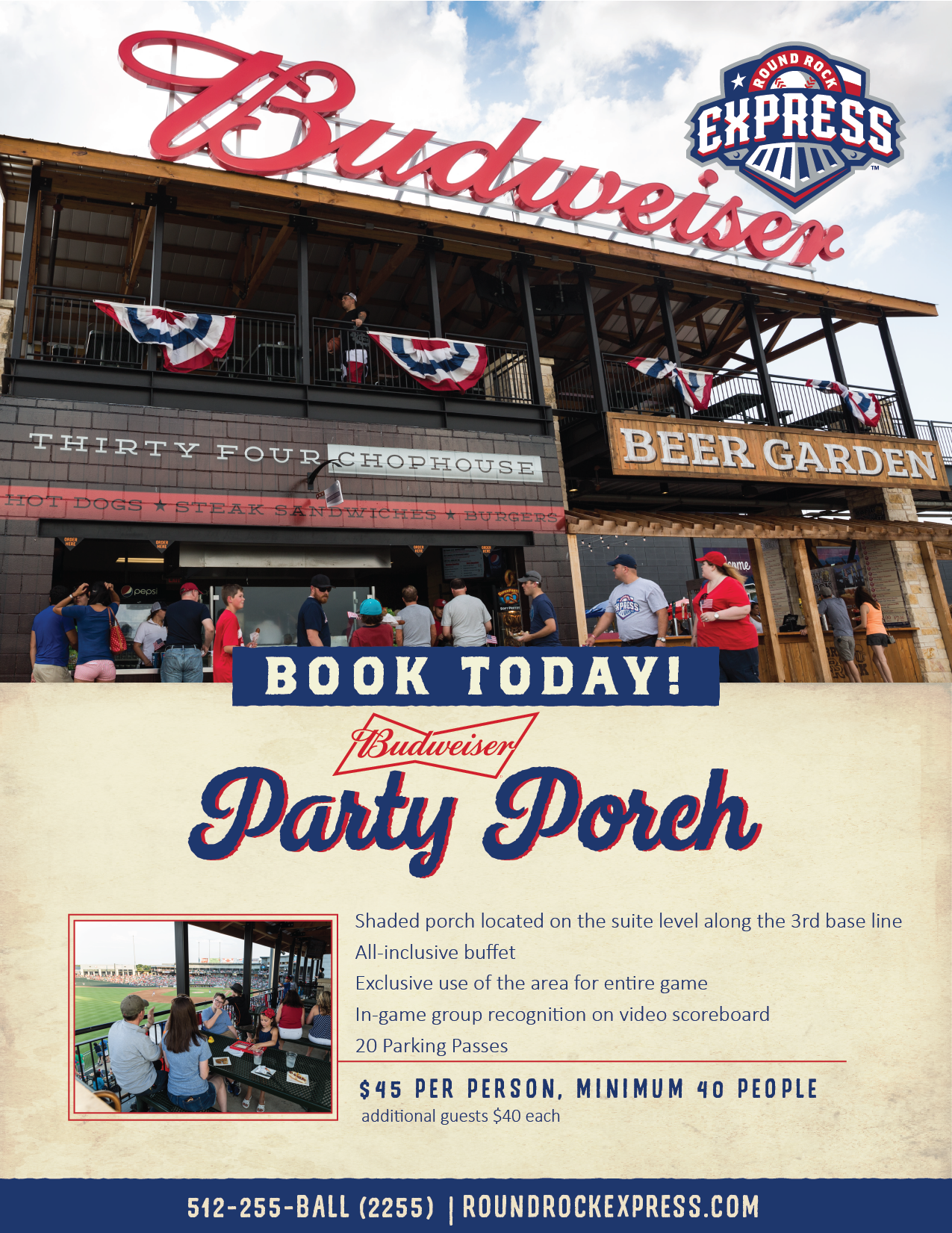 Budweiser Party Porch