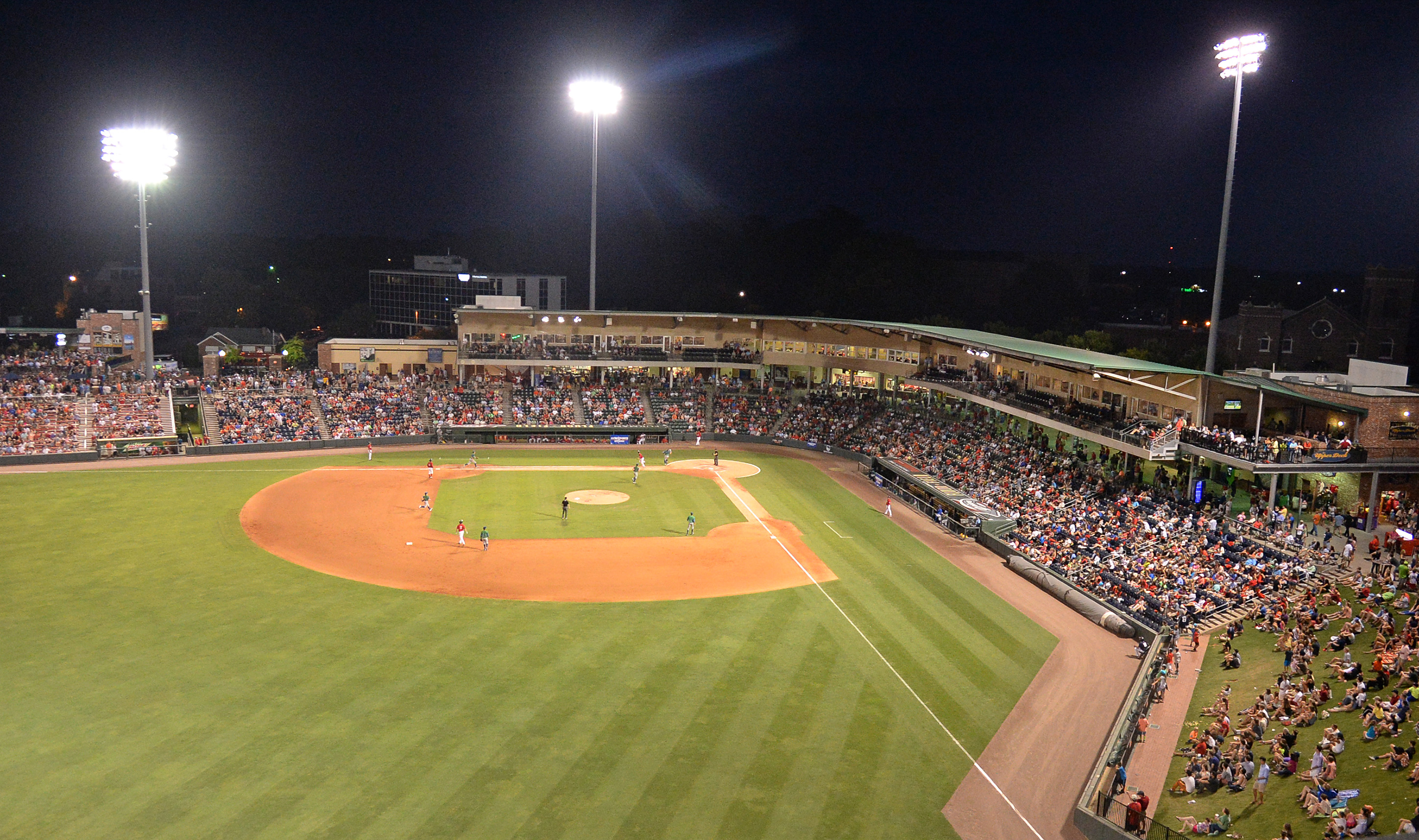 The Rooftop At Fluor Field Greenville Drive Groups