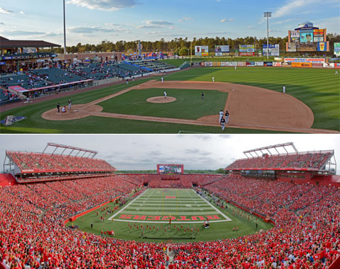 FirstEnergy Park and High Point Solutions Stadium