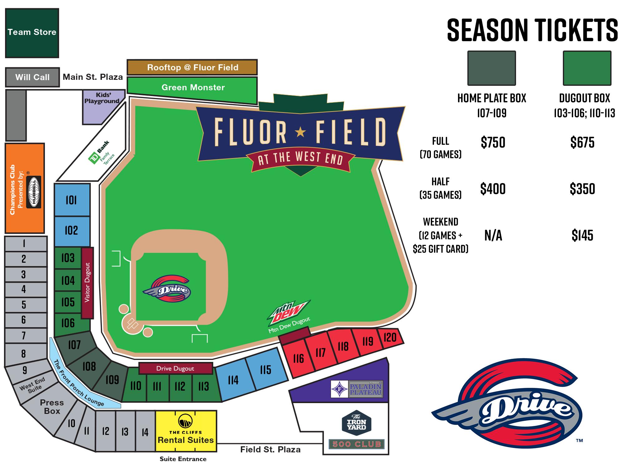 Ballpark Map