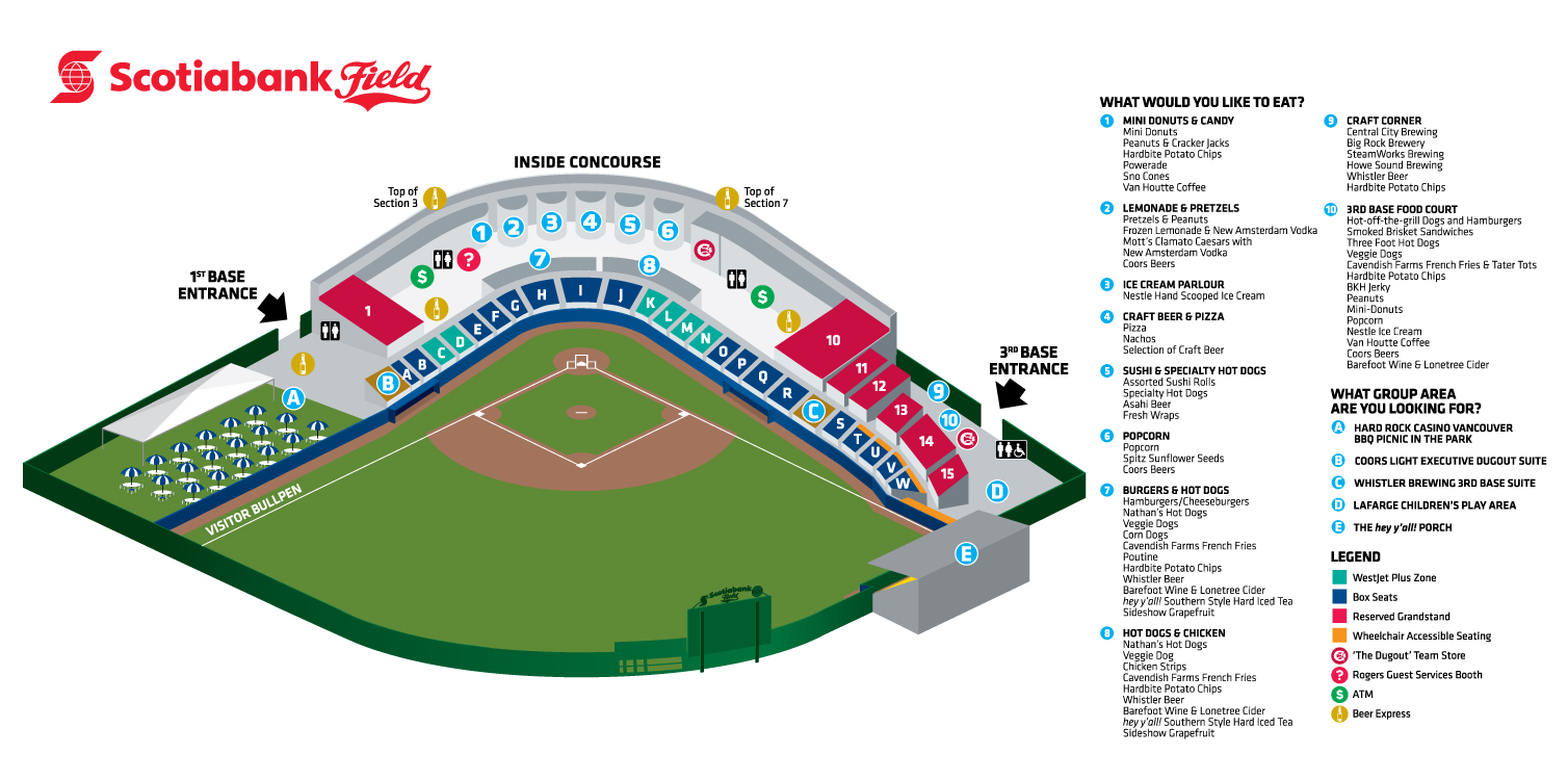Nats Stadium Seating Diagram Diagram Auto Parts Catalog And Diagram