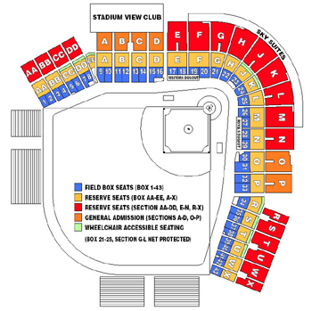 Seating chart omaha storm chasers tickets