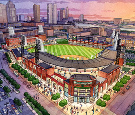Of the columbus clippers slated to open in 2008 columbus clippers