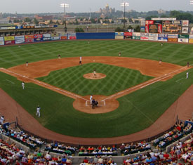 Home Plate View Of Principal Park Prior To The 2005 2006 Renovations