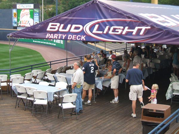Bud Light Party Deck