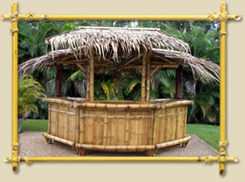 how to make a simple tiki bar