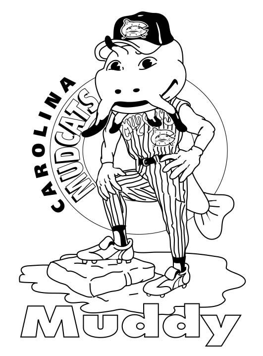 milwaukee brewers free coloring pages Bernie Brewer Coloring Page  Brewers Coloring Pages