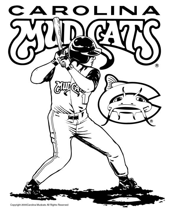 chicago cubs mascot coloring pages - photo#36