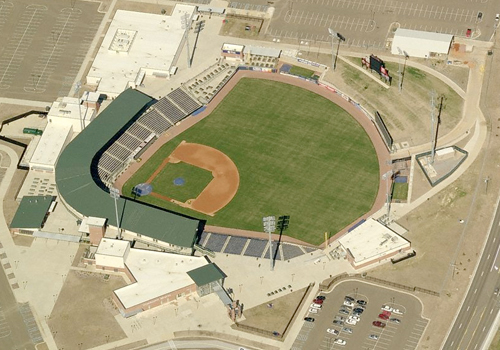 A Bird's Eye View of Trustmark Park from Microsoft Virtual Earth