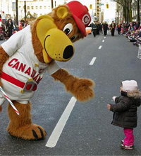 Bob Brown Bear At The 2008 Rogers Santa Claus Parade