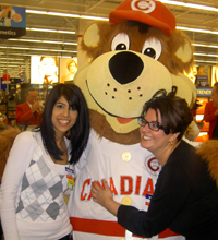 Bob Brown Bear At The Special Walmart Opening