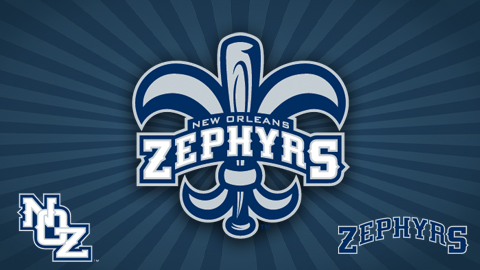 The Zephyrs' new logo emphasizes their connection with their town.