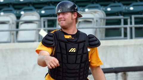 Brian McCann led Class A Advanced Myrtle Beach with 16 home runs in 2004.