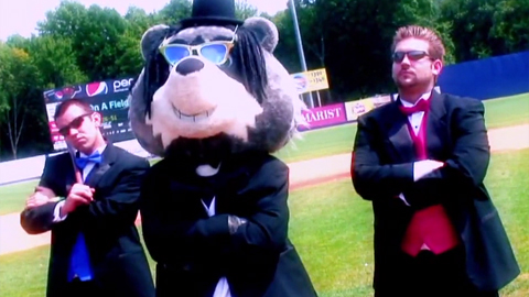 "The Hudson Valley Renegades created a music video entitled, ""I'm On a Field."""