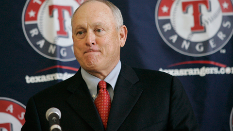 Nolan Ryan's partnership with Chuck Greenberg helped secure exclusive rights.