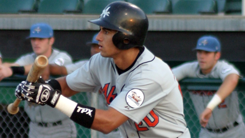 Nick Markakis broke into the Minors with Aberdeen in 2003.
