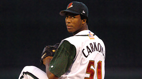 Fausto Carmona led the Indians' organization with 17 wins at Class A in 2003.