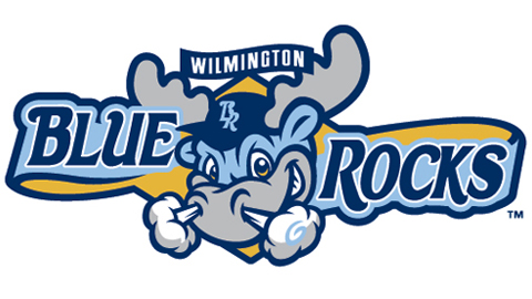 The Blue Rocks' new identity features a paler shade of blue as well as Rocky Bluewinkle.