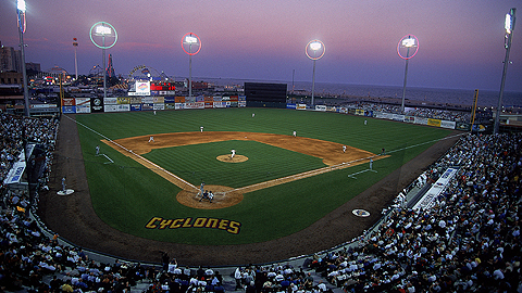 The Cyclones' stadium has been known as Keyspan Park since it opened in 2001.