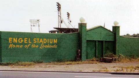 The Chattanooga Lookouts' Engel Stadium had a separate entrance for black fans.