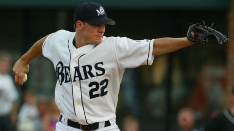 Jake Peavy went to high school in Mobile and pitched for the Double-A BayBears.