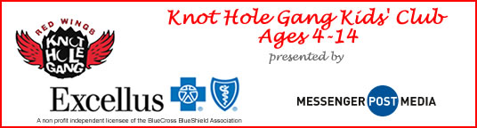 Knot Hole gang Kids' Club presented by Excellus BlueCross BlueShield and Messenger Post Media