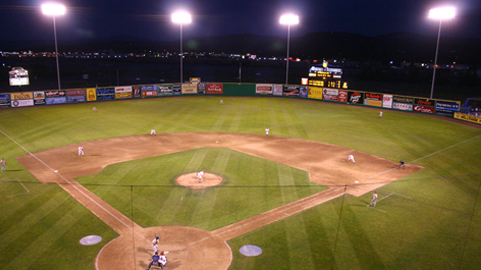 Avista Stadium will run primarily on wind power in 2010.