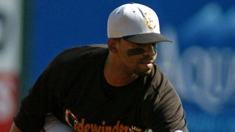 Alberto Callaspo had 32 triples in seven Minor League seasons.