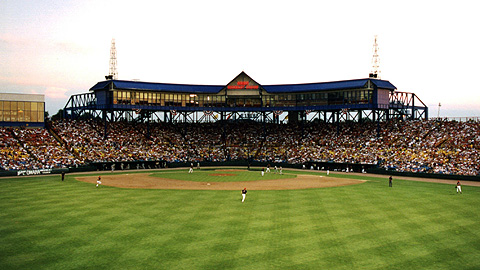 Built in 1947, Omaha's Rosenblatt Stadium marks its final season in 2010.