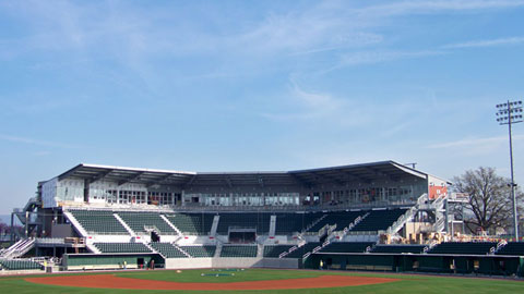 Harrisburg is set to open Metro Bank Park on April 15 against New Britain.