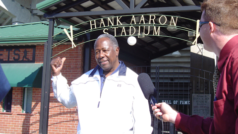 Hank Aaron will be in Mobile for the opening of the museum that bears his name.