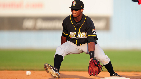 Former first-rounder Tim Beckham may be the Rays' shortstop of the future.