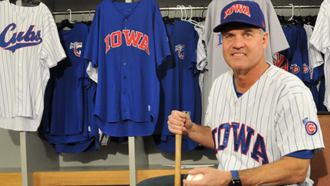 The I-Cubs are pulling out the stops for their new manager, Ryne Sandberg.