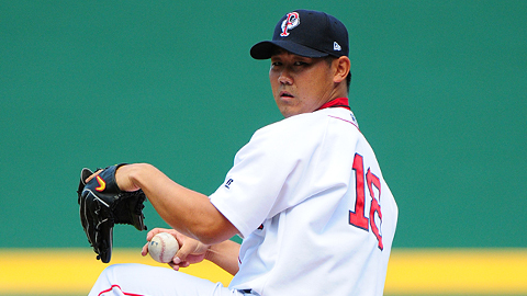 Daisuke Matsuzaka allowed just three hits in his second rehab start.