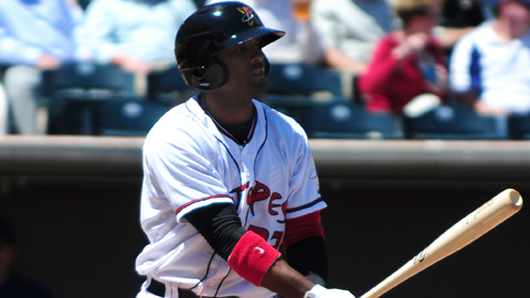Prentice Redman has eight two-homer games in his 12-year career.