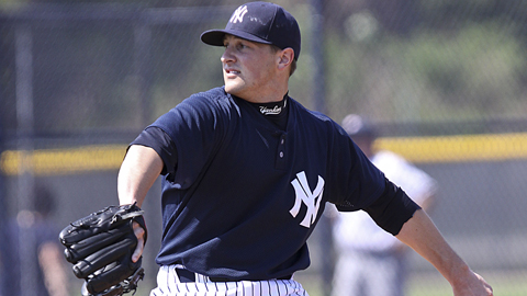 Sheaffer Hall was the Yankees' 25th-round pick in the 2009 Draft.