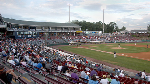 The Giants' Double-A franchise left Dodd Stadium, but the Tigers' short-season club is moving in.