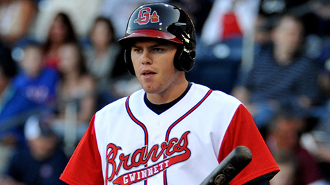 Freddie Freeman hit .282 with 58 RBIs in 112 games in 2009.