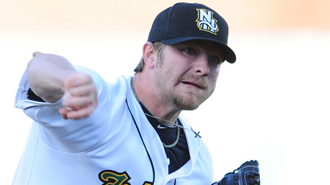 Kyle Drabek leads the Eastern League with 20 strikeouts in four starts.