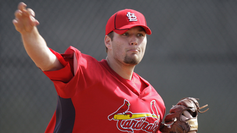 Lance Lynn has given up four hits over 12 innings in his last two starts.