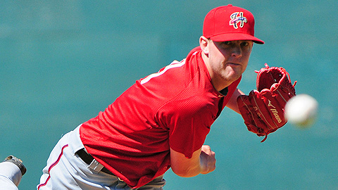First-rounder Drew Storen will join Triple-A Syracuse's bullpen on Friday.