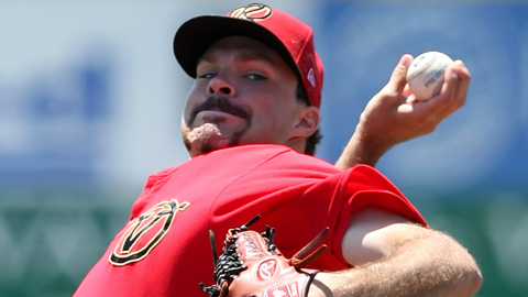 Josh Collmenter skipped Double-A and landed in Triple-A Reno.
