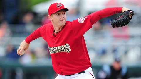 Stephen Strasburg may pitch for Triple-A Syracuse late next week.