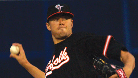 Chris Tillman struck out six and walked one in his first professional complete game.