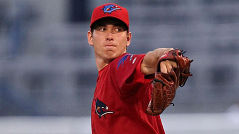 Austin Hyatt leads the Florida State League with 53 strikeouts.